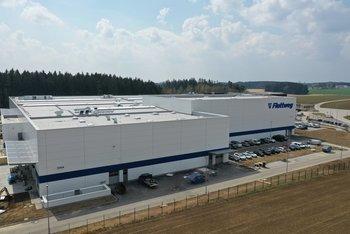 Production hall for Flottweg SE