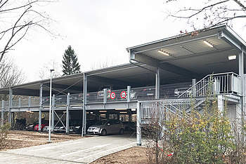 Preflex Parking Garage for a Car Dealer