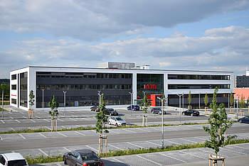 Verwaltungsgebäude für REWE