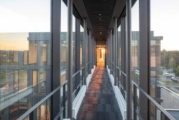 Fassade für neue Firmenakademie