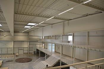 New museum hall in Sinsheim