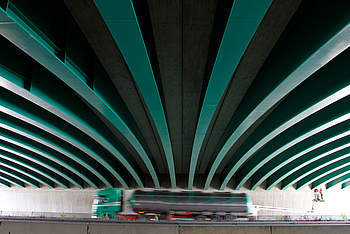 VFT Green Bridge in Brandenburg