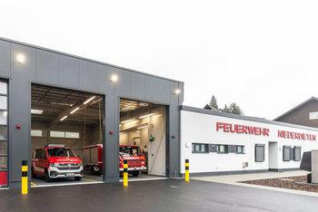 Neue schlüsselfertige Feuerwehrwache
