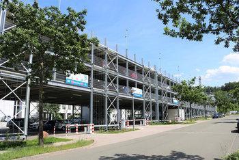 Smart Preflex car park for iT-Campus