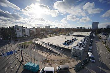 Preflex Parking Garage at the Nuremberg Exhibition Center
