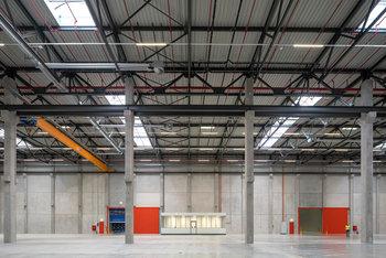 Neues Logistikzentrum für Airbus