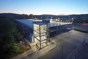 Preflex Parking Garage in Marburg