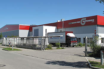 LogisticsWarehouse with Canopy