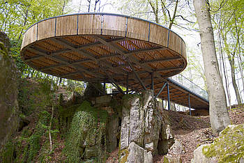 Pedestrian Bridge for the National Horticultural Show