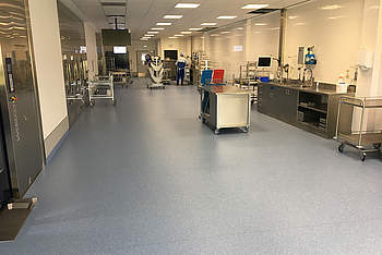 Construction of a New Sterile Item Supply Department