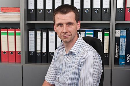 Dr.-Ing. Andre Bubner Leiter Technisches Büro C + P Industriebau Freiberg GmbH & Co. KG Erfurt.